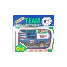 Minnesota Twins 1994 Matchbox MLB Diecast Ford Flareside Pick-up Truck White Rose Collectible Toy Car 1:64 Scale Pickup by MLB  $14.89