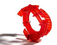 Caroline Smith Jewellery - Recycled Broken Car Lights - bracelet
