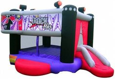 Amuz Inflatable Game: The Rock Star