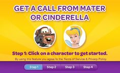 Potty training is always easier with motivation from Cinderella or Mater! Follow @MoneySavingQueen's link to get a free phone call.