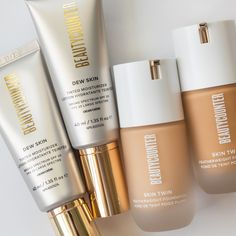 Let's face it, it's hard to choose between these #betterbeauty best sellers. Is it a Dew Skin or Skin Twin type of day (or both)? 🤔 Clean Makeup, Tinted Moisturizer, Broad Spectrum, Bronzer, Lip Colors, Lotion, Twins, Foundation, Cleaning