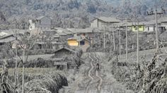 Indonesia, Sinabung volcano