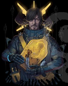 Dead Stranding, Death Stranding Ps4, Playstation, Kojima Productions, Gaming Wallpapers, Metal Gear Solid, French Girls, Life And Death, Video Game Art