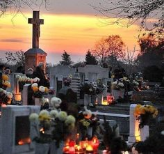 One cemetery from Romania in 31 October All Saints Day, Memento Mori, Roman Catholic, Cemetery, Romania, Ethereal, The Past, Spirituality, Faith