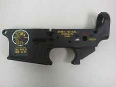 Spike's Tactical Zombie AR lower Dead and undead