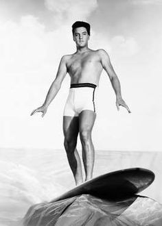 Elvis Presley as Chad Gates in Blue Hawaii - Courtesy Everett Collection