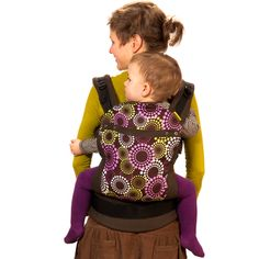 Liliputi® Soft Baby Carrier - Rainbow line - Lavendering Babywearing  More!  #liliputi #liliputistyle #babywearing #babycarrier #softbabycarrier