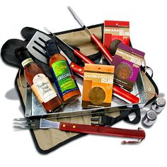 Grilling gift set - put together what Dad loves!