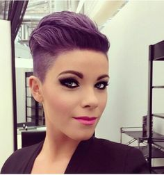 short purple and black hair - Google Search