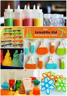 It's summer, which means it's time to start planning an engaging, educational, and fun birthday party for your child! These scientific kids birthday party ideas will #WOW children and stimulate their senses!