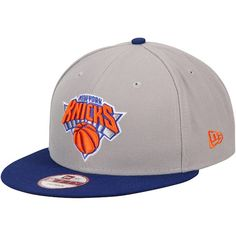 New York Knicks New Era Team 9FIFTY Snapback Adjustable Hat - Gray   NewYorkKnicks Nba New af9f20c4723e