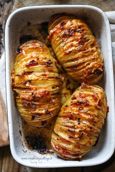 Scrumptious!!! Hasselback potatoes with bacon and gruyere cheese | Miss Becky's Cottage