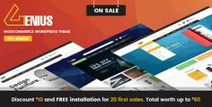 VG Genius - Multipurpose WooCommerce WordPress Theme VG Genius is a Premium WP Theme for creating powerful eCommerce online stores. Optimised for Marketing, SEO, WooCommerce suiting many website applications.  VG Genius for WordPress is an eCommerce enabled multipurpose theme for building and creating any kind of online store you can think of.