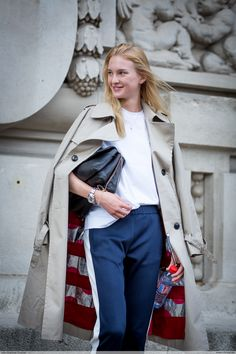 Nastya Sten by Jean Baptiste Soulliat Margiela - Paris Fashion Week PAP SS17