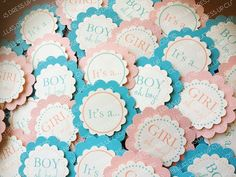 12 YOUR COLOR CUSTOM DoubleSided Cupcake by BellasDressUpCloset, $18.95