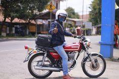 Ride with suzuki gt185