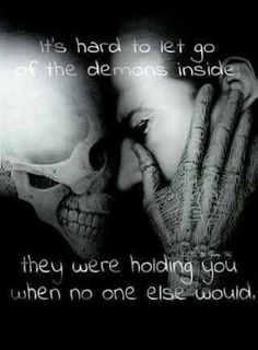 Silent is the food for demons...