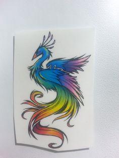 Temporary Tattoo Phoenix