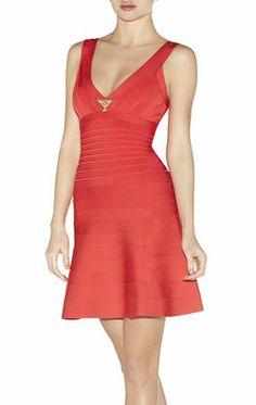 Kyra Hardware-Detailed Dress