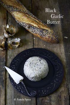 Black Garlic Compound Butter