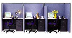 Paneled modular workstations