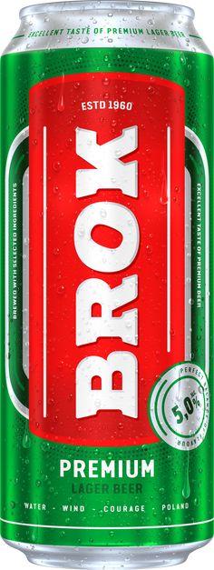 BROK PREMIUM LAGER Lager Beer, Beverages, Drinks, Coca Cola, Canning, Instagram, Beer, Drinking, Coke