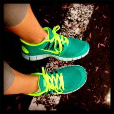 Nike Frees! #swoosh #justdoit