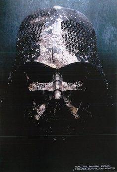 Star Wars 7 Kylo Ren Helmet   Star Wars Episode 7: Trailer News, Darth Vader & Kylo Ren's Helmet!