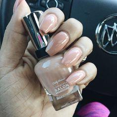 New Nails #nude #polish #nails