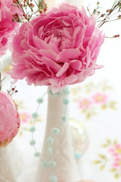 Pink peony!!  Love this flower ---