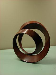 Mobius sculpture.