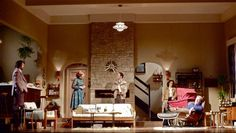 Absent Friends. Harold Pinter Theatre. Scenic design by Tom Scutt. 2012