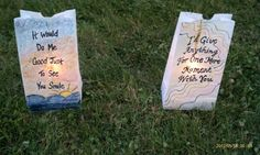Luminaria Bags - Google Search