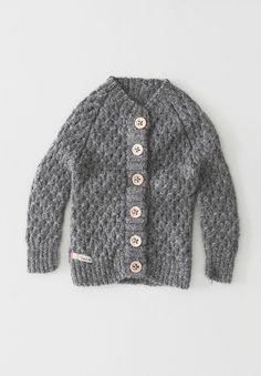 Knitted Cardigan Grey