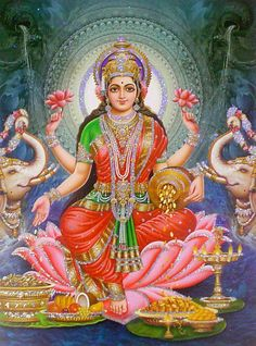 Goddess Lakshmi 20 x 14