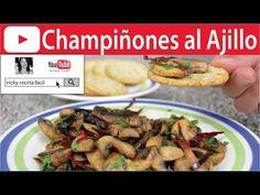 CHAMPIÑONES AL AJILLO   Vicky Receta Facil - YouTube