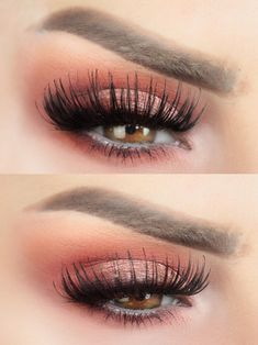 simple makeup – Hair and beauty tips, tricks and tutorials Simple Eyeshadow, Red Eyeshadow, Urban Decay Eyeshadow, Makeup 2018, Prom Makeup, Eye Makeup, Pretty Makeup, Simple Makeup, Makeup Looks