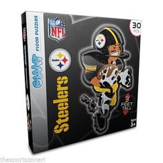 Pittsburgh Steelers Floor Puzzle #PittsburghSteelers Visit our website for more: www.thesportszoneri.com