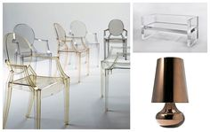 Ghost chair - Kartell
