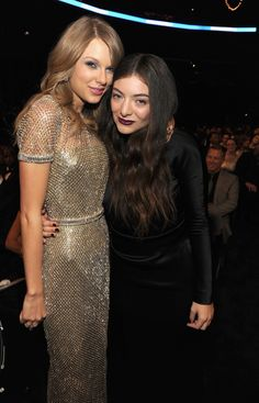 Taylor Swift and Lorde linked up at the Grammys