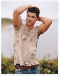 Image result for taylor lautner abs