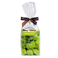 PISTACHIO Sweet Truffle - bag 200g Pistachio, Truffles, Drink, Bag, Sweet, Food, Gourmet, Pistachios, Candy