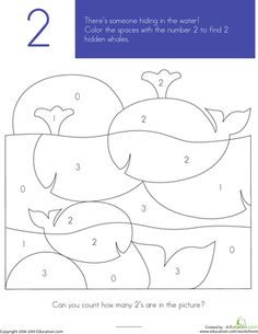 Worksheets: What's Hiding in the Numbers?: 2