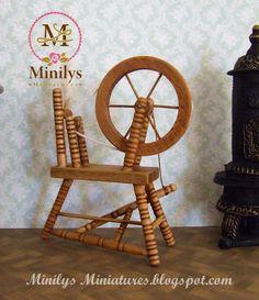 Minilys Miniatures. rueca 1:12
