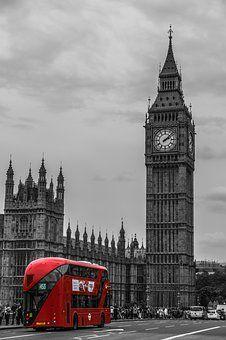 London, Bus, Double Decker Bus