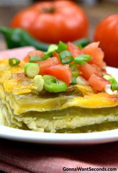 If you like Chiles Rellenos, this easy to make casserole is for you! This dish has all the flavor of a Chile Relleno without all the mess and fuss. Mexican Dishes, Mexican Food Recipes, Veggie Recipes, Beef Recipes, Vegetarian Recipes, Chicken Recipes, Rellano, Spaghetti Casserole, Squash Casserole