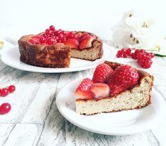 Erdbeer Kuchen mit Eiweissmehl Konzelmanns