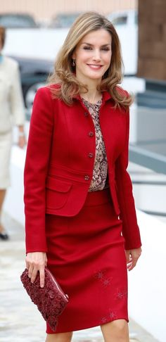 Queen Letizia visited Portugal to attend several actions