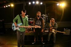 The Winery Dogs: (from left) Billy Sheehan, Mike Portnoy and Richie Kotzen