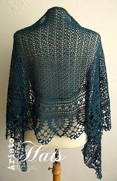 Ravelry: Ariane Shawl pattern by José Crochet